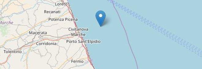 Scossa di terremoto all'alba in mare paura sulla costa