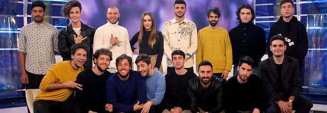 La squadra di Sanremo Giovani