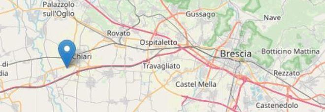 Scossa di terremoto in provincia di Brescia, molta gente in strada
