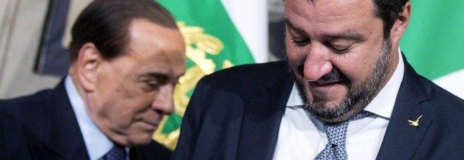 Berlusconi vede Salvini: «Fermati e poi votiamo»