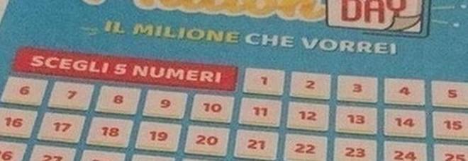 Million Day, i numeri vincenti di sabato 18 gennaio 2020