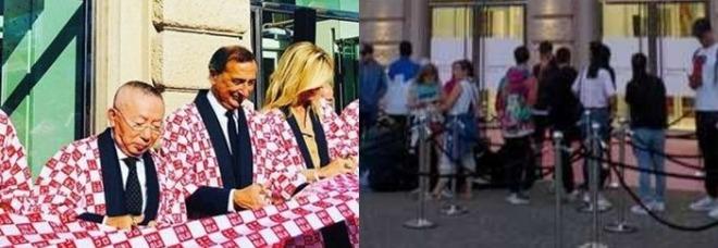 Uniqlo apre a Milano, in coda fin dall'alba. Sala in kimono al taglio del nastro: «Già 150 assunzioni»