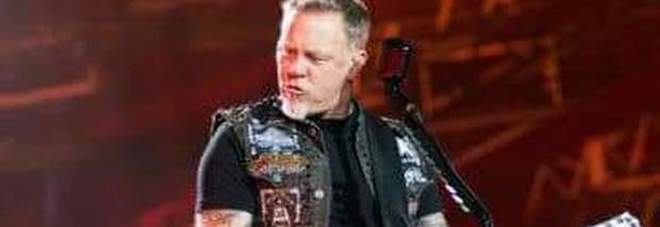 James Hetfield, chitarrista e cantante dei Metallica