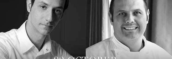 Lo chef stellato Bobo Cerea cucinerà a quattro mani con Antonino Montefusco