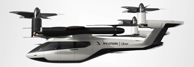 Hyundai e Uber, il progetto visionario: «Taxi volanti entro il 2024»