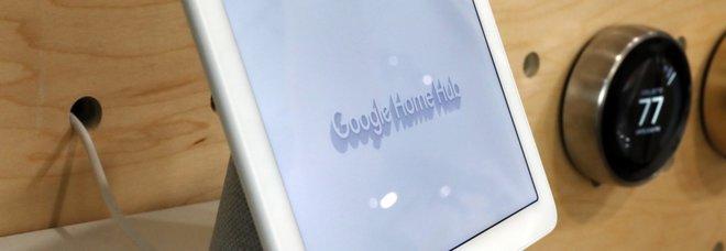 L'assistente vocale Google Home Hub