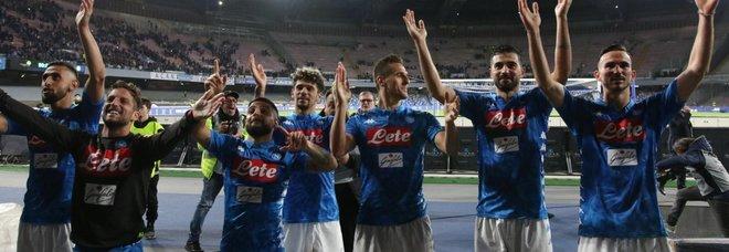 Il Napoli asfalta l'Inter (4-1): show di Fabian Ruiz