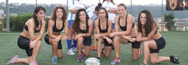 Calendario Ragazze.Benevento Le Ragazze Del Rugby Finiscono Nel Calendario