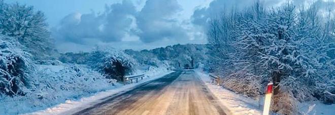 Meteo, gelo polare sull'Italia: «Temperature giù fino a -5°». Sabato tregua, poi neve