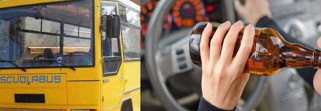 """Ubriaco guida il bus scolastico, aveva un """"tasso"""" 4 volte oltre il limite"""
