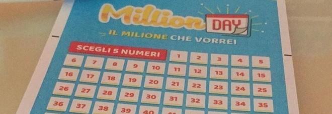 Million Day, in diretta l'estrazione di oggi giovedì 10 gennaio 2019: tutti i numeri vincenti