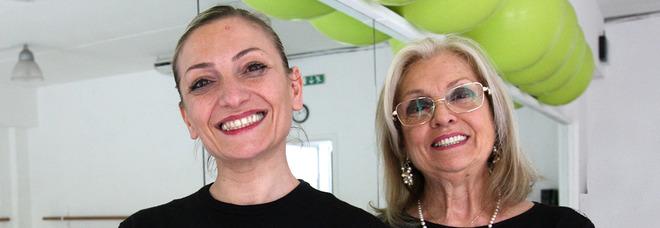 Veronica Frisotti e la madre Maria Rosaria Di Lecce