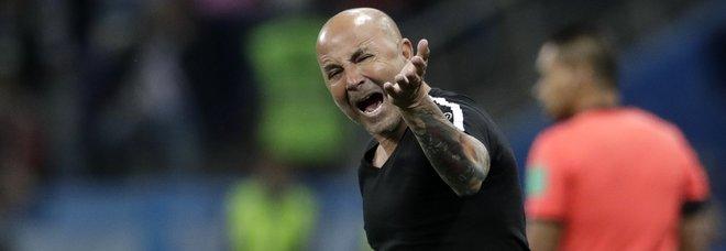 I media russi: i giocatori dell'Argentina vogliono mandare via Sampaoli