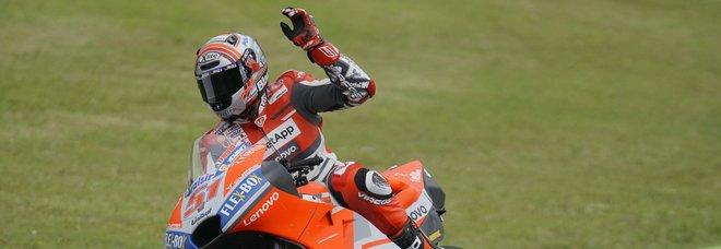 Moto, Pirro ok dopo l'incidente: domani già in moto sul circuito