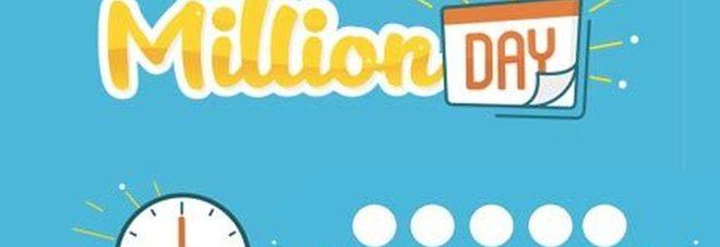 Million Day, diretta estrazione di martedì 19 marzo 2019