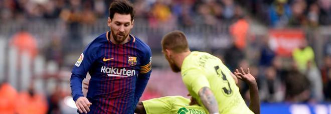 Liga, frenata del Barcellona: 0-0 in casa con il Getafe. L'Atletico Madrid adesso è a -7