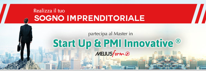 Meliusform, Master in Startup & PMI Innovative