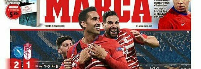 La Spagna esalta il Granada: «Grandiosi, una squadra eroica»