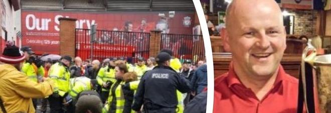 Scontri Liverpool, arrestati due romanisti: hanno 21 e 29 anni. In fin di vita un irlandese, «gravi danni al cervello»
