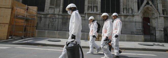 Piombo a Notre Dame, test medici su oltre 160 bambini