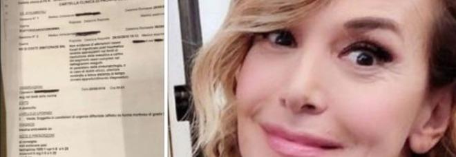 Barbara D'Urso in pronto soccorso: «Ho preso un cazzottone in faccia...». Ecco come sta