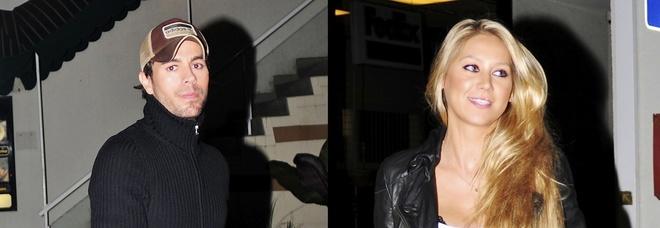 Enrique Iglesias e Anna Kournikova, nato il terzo figlio del cantante e della ex tennista