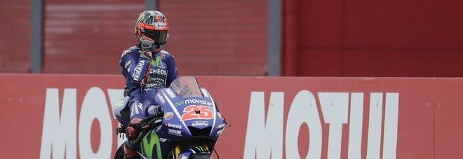 Vinales: «Spero che Rossi rinnovi»
