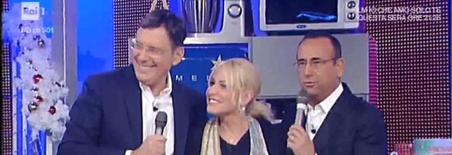 Fabrizio Frizzi torna in tv sorpresa di compleanno per Antonella Clerici