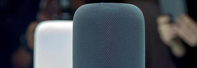 Apple lancia HomePod, speaker da salotto. Ma non in Italia