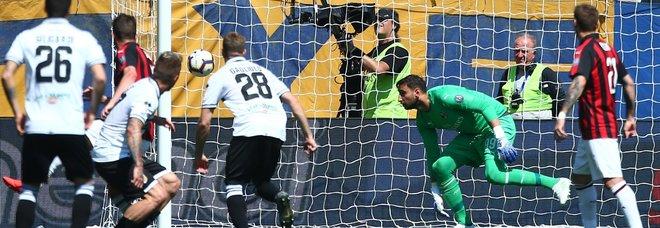 Il gol del pareggio di Bruno Alves