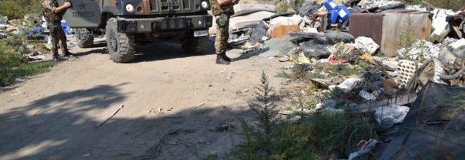 Blitz anti roghi e rifiuti sul Vesuvio: sequestrata cava di 37mila mq