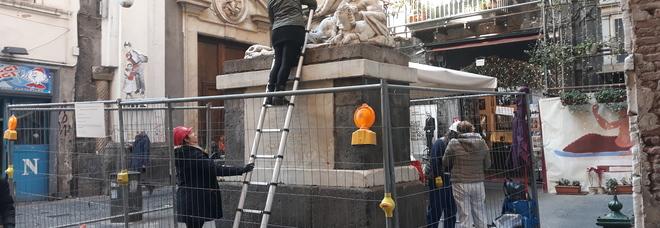 Napoli, Il museo della Cappella Sansevero sostiene il restauro della statua del Dio Nilo