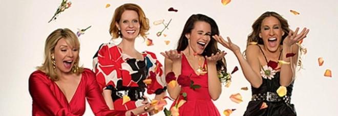 Miranda,Samantha, Charlotte e Carrie