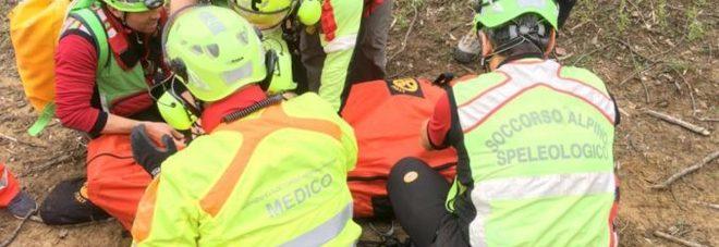 Boscaiolo ferito gravemente mentre taglia un albero