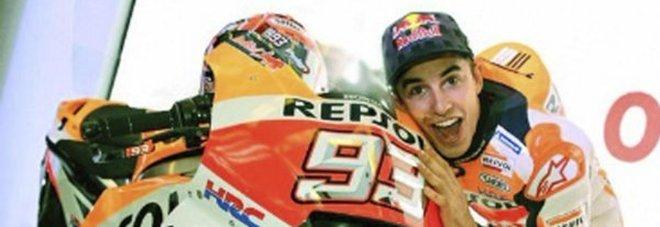 Marquez rinnova per altri due anni con la Honda
