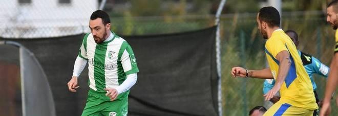 L'attaccante biancoverde del Monte San Biagio Luca De Simone