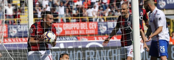 Bologna-Samp 3-0, Cagliari-Frosinone 1-0, Empoli-Spal 2-4, Genoa-Torino 0-1, Udinese-Sassuolo 1-1