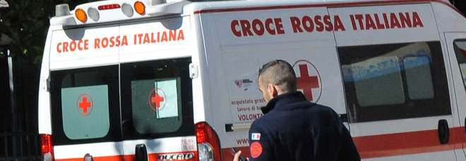 L'intervento dell'ambulanza