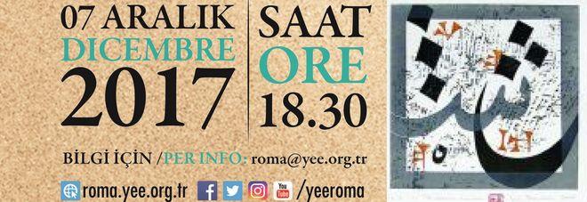 Tre artisti per la pace: la mostra al Centro culturale turco di Roma