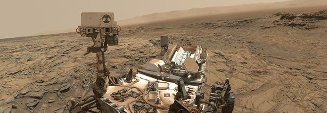 Un cratere su Marte