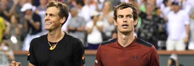 Indian Wells, Murray subito eliminato, il torneo resta un tabù