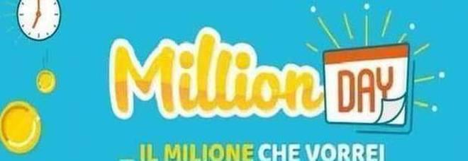 Million Day, i cinque numeri vincenti di venerdì 20 marzo 2020