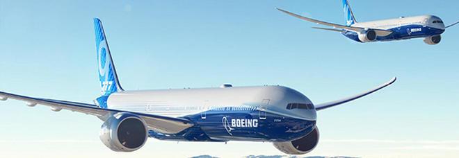 Boeing 777X, il primo decollo salta per il maltempo
