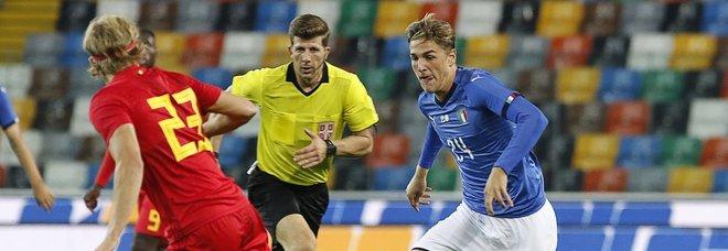 """Under 21 ko: battuta 1-0 dal Belgio al """"Friuli"""""""