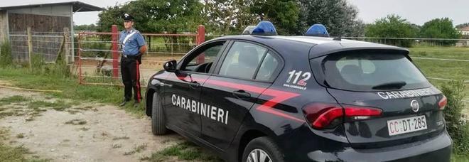 I carabinieri al maneggio