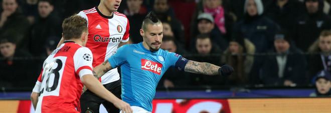 Hamsik: «È mancato qualcosa Ora avanti in Europa League»