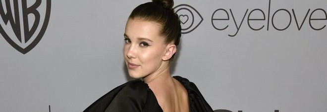 Millie Bobby Brown, la star 13enne di Stranger Things e l'abito che fa scandalo