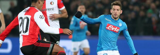 Mertens punta la Fiorentina:  «Domenica vogliamo vincere»