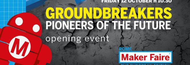 Maker Faire Rome, evento di apertura: la diretta video