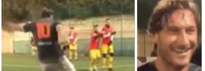 Francesco Totti, l'eurogol su punizione conquista i social. E lo applaude anche la FIFA